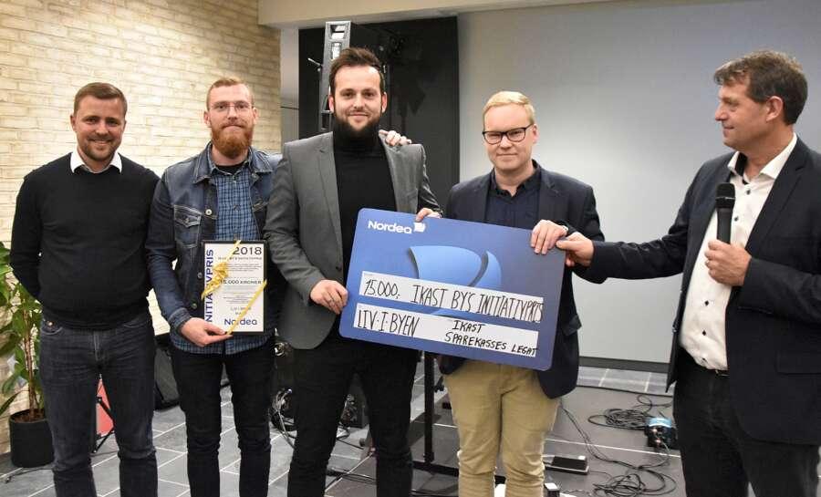 Foreningsrådgivning - Liv I Byen får Ikast By's initiativpris 2018